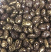 Polished Dark Chocolate Almonds 100g
